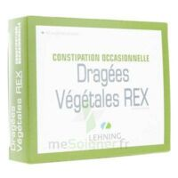 DRAGEES VEGETALES REX Cpr pell B/40 à Eysines