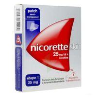 NICORETTESKIN 25 mg/16 heures, dispositif transdermique B/28 à Eysines