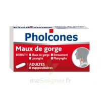 PHOLCONES BISMUTH ADULTES, suppositoire à Eysines