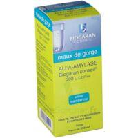 ALFA-AMYLASE BIOGARAN CONSEIL 200 U.CEIP/ml, sirop à Eysines