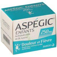 Aspegic Enfants 250, Poudre Pour Solution Buvable En Sachet-dose à Eysines