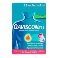 GAVISCONELL Suspension buvable sachet-dose menthe sans sucre 12Sach/10ml à Eysines
