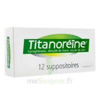 TITANOREINE Suppositoires B/12 à Eysines