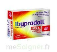 IBUPRADOLL 400 mg Caps molle Plq/10 à Eysines