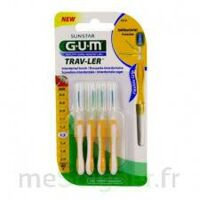 GUM TRAV - LER, 1,3 mm, manche jaune , blister 4 à Eysines