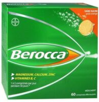 Berocca Comprimés effervescents sans sucre T/60 à Eysines