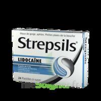Strepsils lidocaïne Pastilles Plq/24 à Eysines