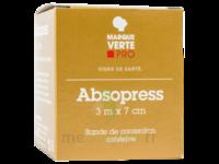 ABSOPRESS Bande contention cohésive 3m x 7cm – blanc à Eysines