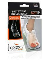 EPITACT SPORT PROTECTIONS ONGLES BLEUS EPITHELIUMTACT 02, small à Eysines