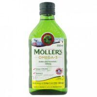 Mollers Huile de foie de morue Solution buvable citron 250ml à Eysines