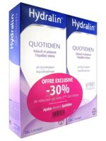 Hydralin Quotidien Gel lavant usage intime 2*200ml à Eysines