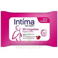 Intima Gyn'Expert Lingettes Cranberry Paquet/30 à Eysines