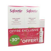 Saforelle Solution soin lavant doux 2*500ml+100ml à Eysines