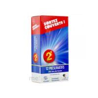 Sortez Couverts Préservatif lubrifié avec réservoir B/12 à Eysines