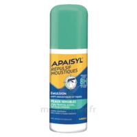 Apaisyl Répulsif Moustiques Emulsion peaux sensibles 90ml à Eysines