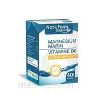 Nat&form Expert Magnésium+vitamine B6 Gélules B/40 à Eysines