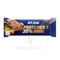 Apurna Barre hyperprotéinée crunchy chocolat noisette 45g à Eysines