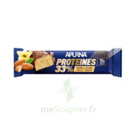 Apurna Barre hyperprotéinée moelleuse vanille amande 45g à Eysines