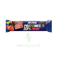 Apurna Barre hyperprotéinée moelleuse fruits rouges 45g à Eysines