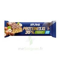 Apurna Barre hyperprotéinée XL crunchy noisette 80g à Eysines