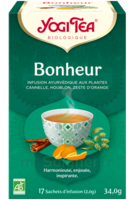Yogi Tea Tisane Ayurvédique Bonheur Bio 17 Sachets/1,8g à Eysines