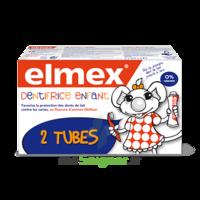 ELMEX DUO DENTIFRICE ENFANT, tube 50 ml x 2 à Eysines