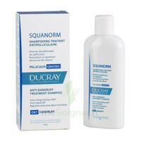 Ducray Squanorm Shampooing Pellicule Grasse 200ml à Eysines