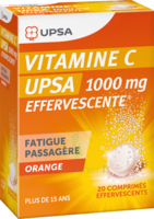 Vitamine C Upsa Effervescente 1000 Mg, Comprimé Effervescent à Eysines