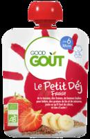 Good Goût Petit Déj Fraise Gourde/70g à Eysines