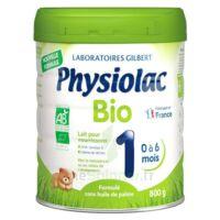 Physiolac Bio 1 Lait En Poudre B/800g à Eysines